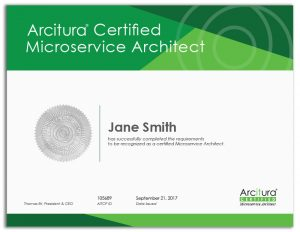 Arcitura Certified Microservice Architect
