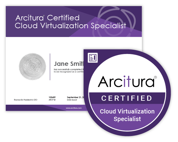 certification certificate digital arcitura cloud accreditation acclaim badge exams professional workshop specialist